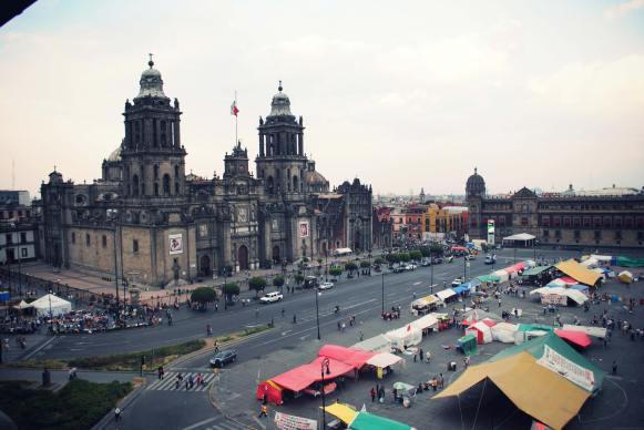mexique mexico voyage