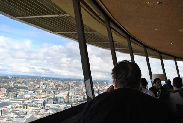 Brunch au Space Needle Seatle