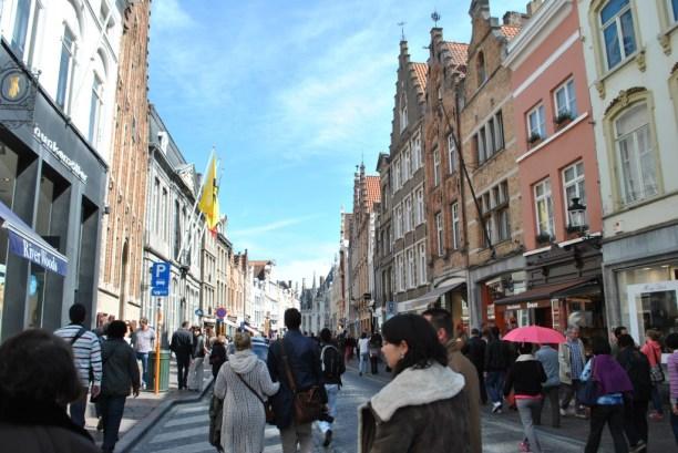 dans les rues de bruges belgique (1)