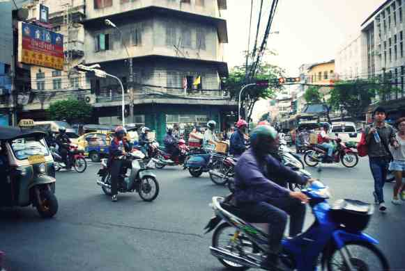 Quartier chinois de Bangkok Thaïlande
