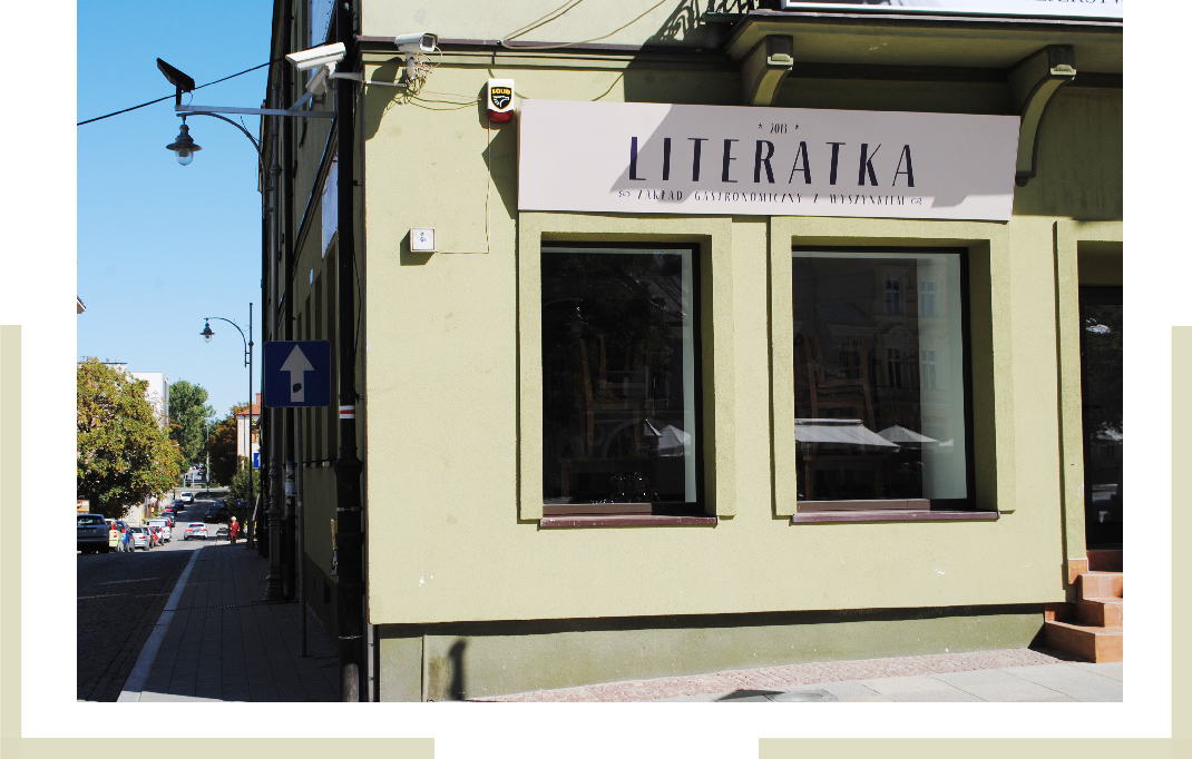 Restaurant Kielce Pologne Literatka