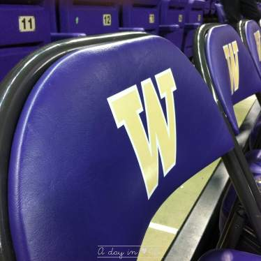 Huskies basket seattle université de washington