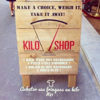 Acheter ses fringues au kilo
