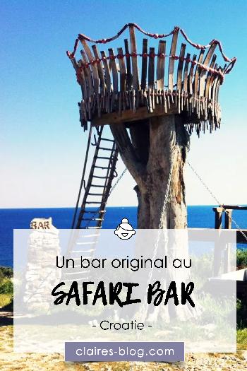 Un bar original à Premantura : Safari Bar - #croatie #voyage #safaribar #premantura