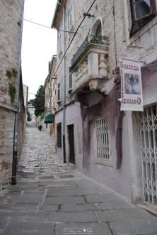 Dans les rues de pula - croatie