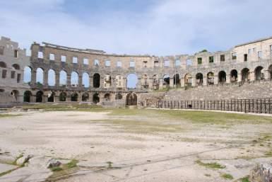 Amphithéâtre de Pula - Croatie
