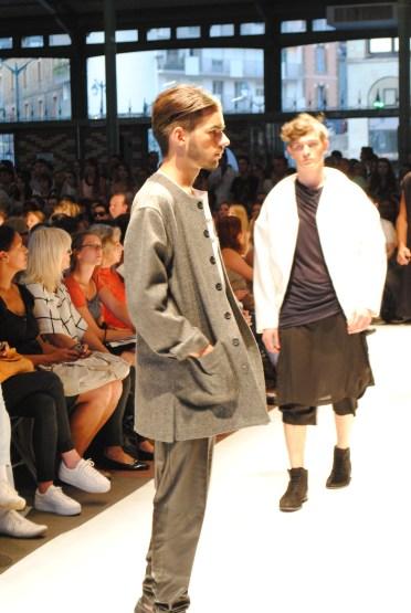 défilé de l'école de mode Esmod Rennes