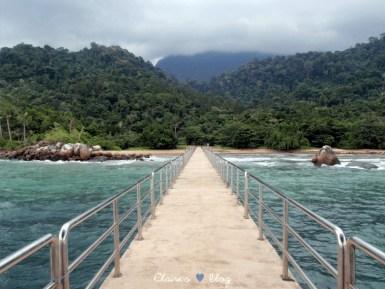 Mukut Waterfalls - Tioman - Malaisie