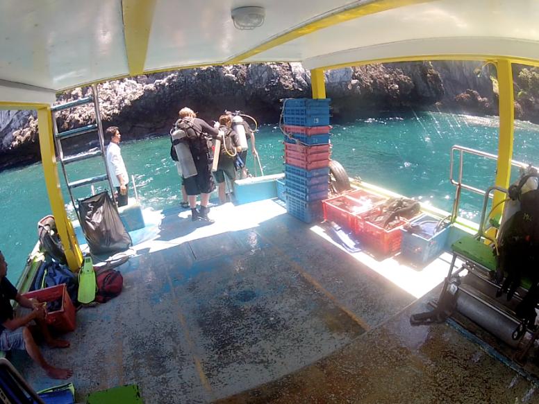 plongée sous marine thaïlande kho phi phi gopro