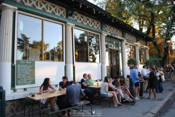 Rosa Bonheur Restaurant Paris