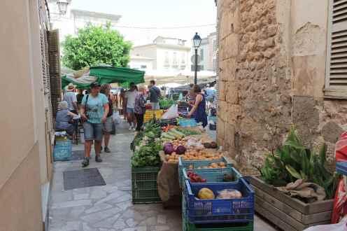 Marché de Sineu Majorque Mallorca