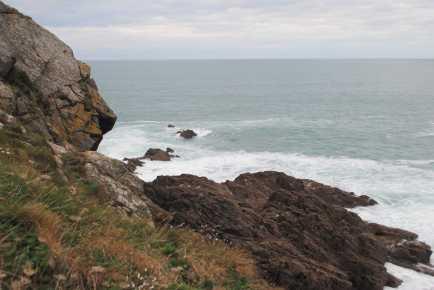 sur le chemin de la pointe du Grouin - Bretagne