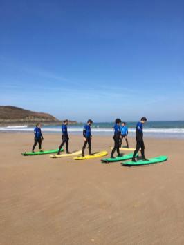 cours de surf harmony saint lunaire bretagne