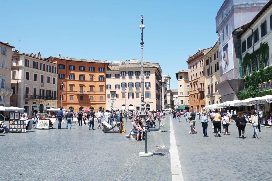 piazza navona rome italie