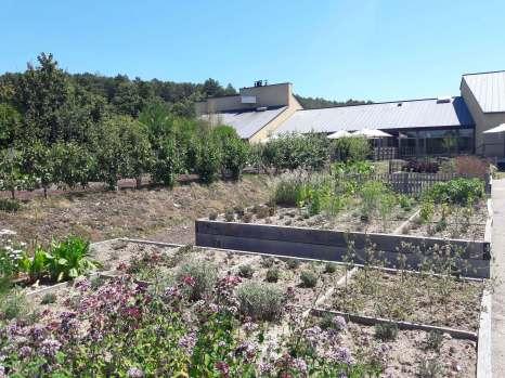 potager la gree des landes yves rocher jardins sauvage bretagne