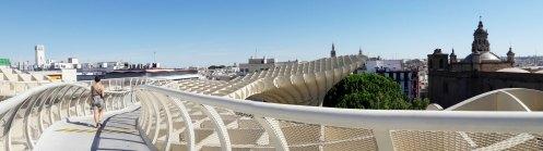 les parasols seville andalousie champignons Encarnacion Regina (1)