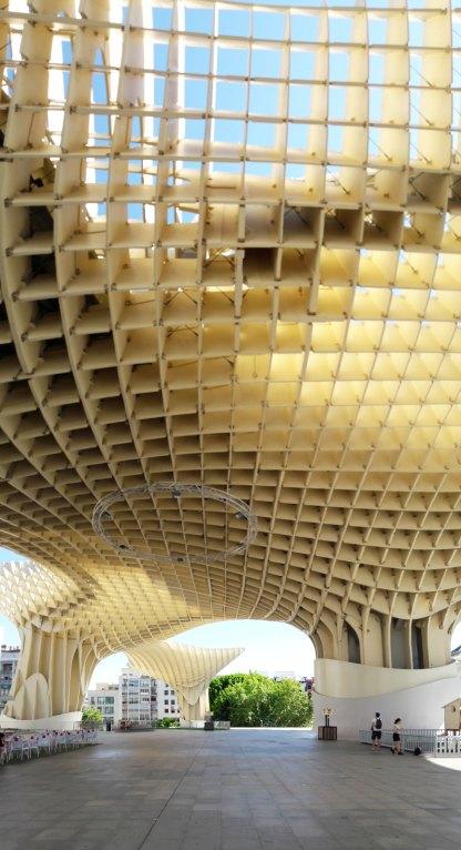 les parasols seville andalousie champignons Encarnacion Regina (10)
