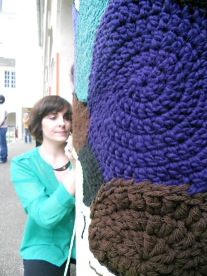 tricot laine de rue