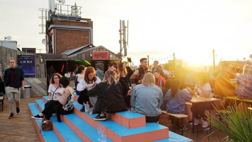 cinema rooftop londres