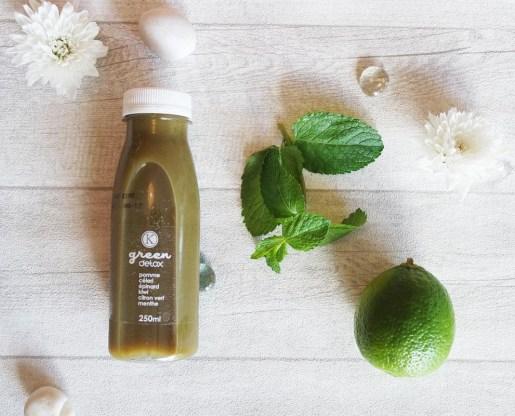 kitchendiet detox cure jus fruits légumes