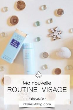 Ma nouvelle routine soin visage #cosmétique #routinesoinvisage #soinvisage #dhc