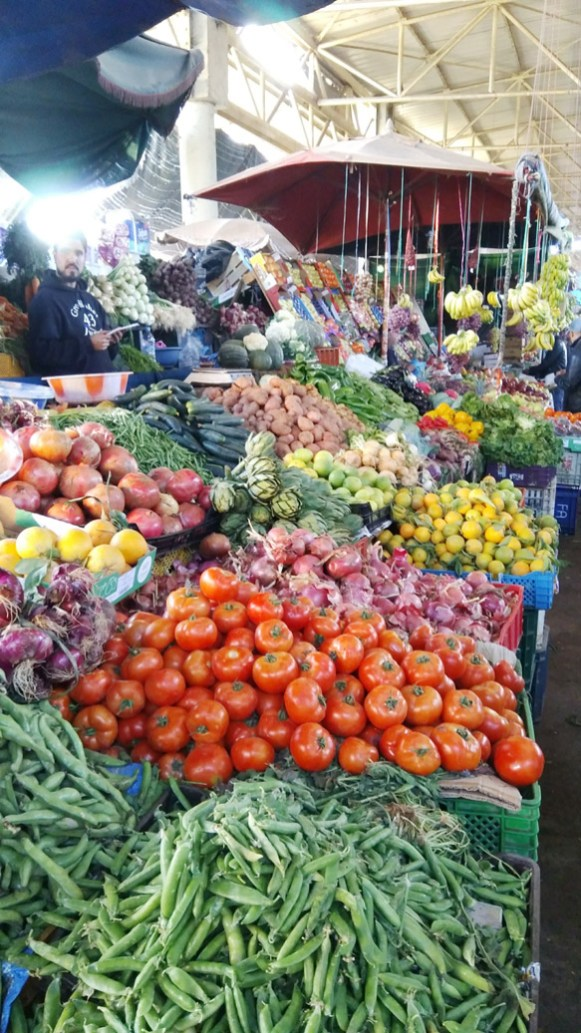 Souk agadir Maroc