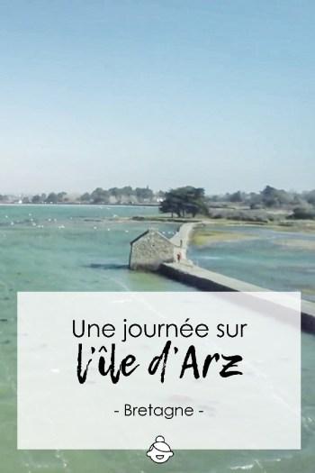 Une journée sur l'île d'Arz - Bretagne