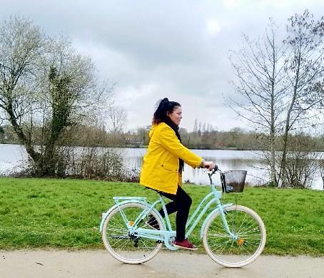 balade vélo rennes étangs d'apigné