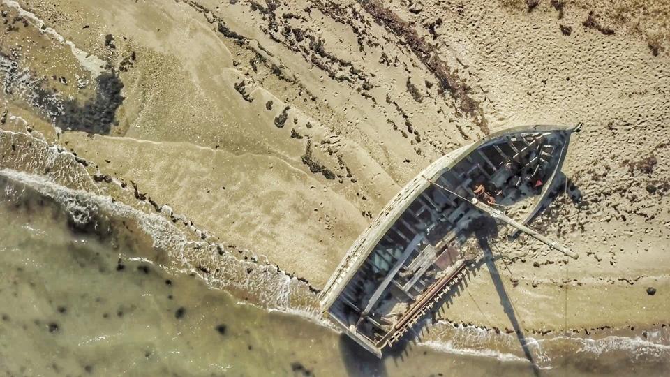 ile d'arz photo drone bretagne morbihan