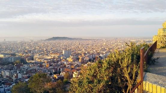 Barcelone-Espagne-Bunker del Carmel panorama