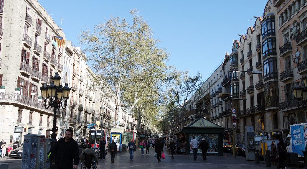 Barcelone-Espagne-la-rambla-raval