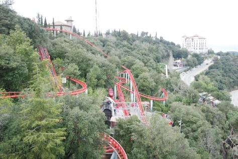 Barcelone-Espagne-parc d'attraction tibidabo