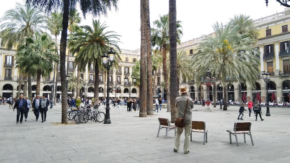 Barcelone-Espagne-plaça-reial