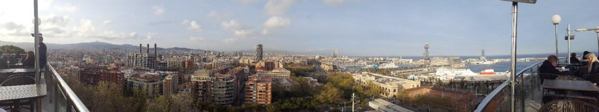 Barcelone espagne montjuic bar miramar
