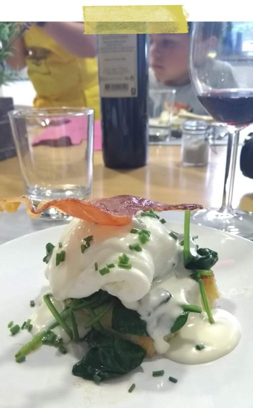 Recette œuf florentine revisitée