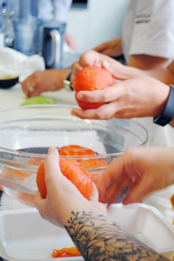 recette œuf préparation sauce vierge (2)