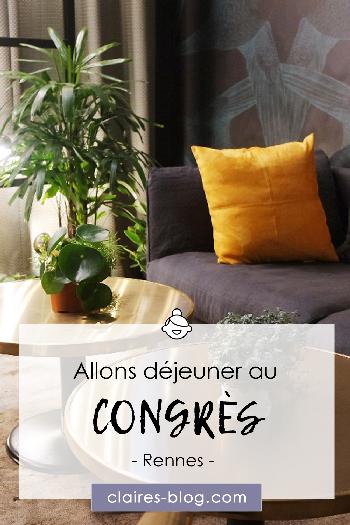 Allons déjeuner au Congrès Rennes #restaurant #rennes #lecongrès #cityguide #bretagne