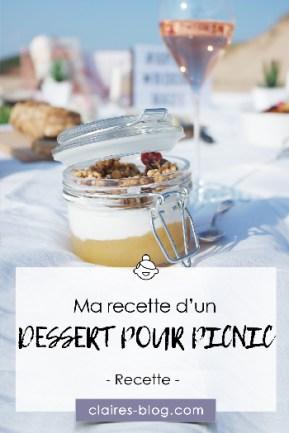 Ma recette d'un dessert pour un picnic réussi