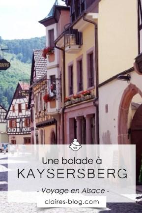 Une balade à Kaysersberg en Alsace #voyage #Kaysersberg #alsace