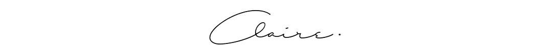 Signature Claires' Blog