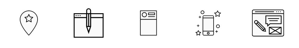 icones the noun project blogging