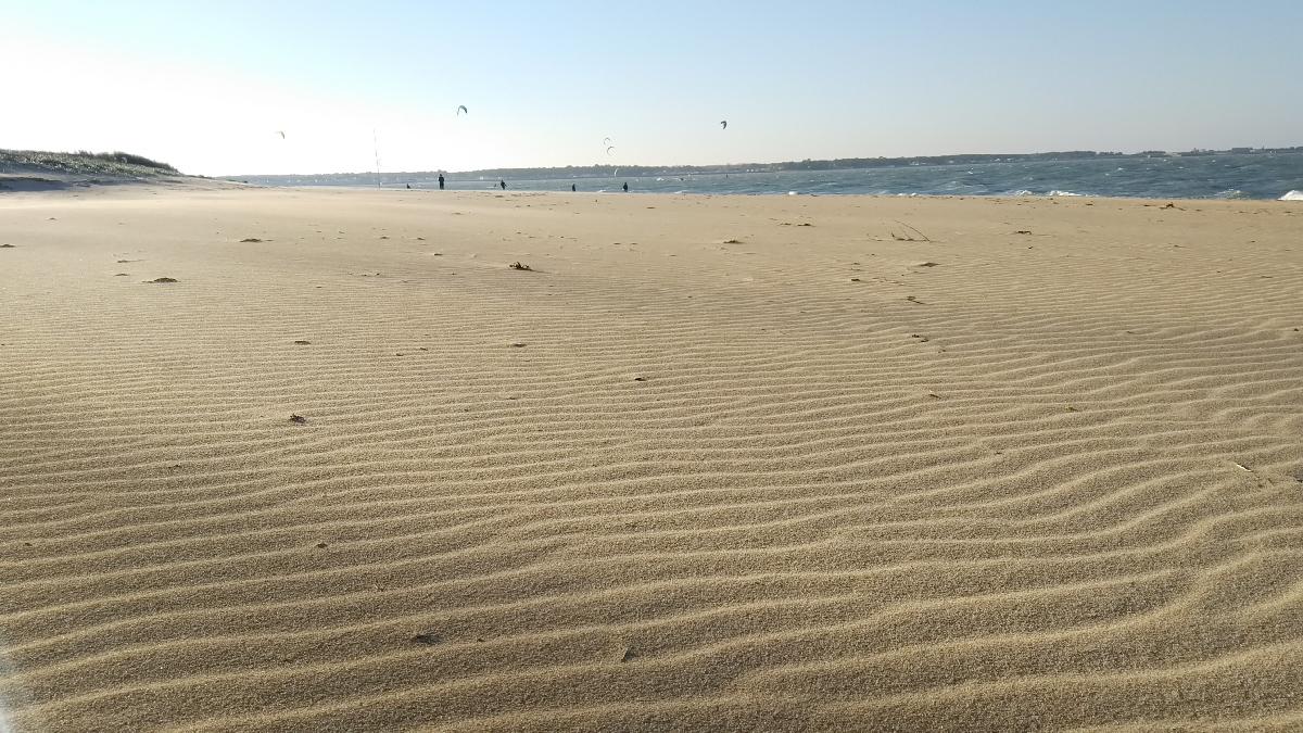 Rivedoux plage île de Ré pont