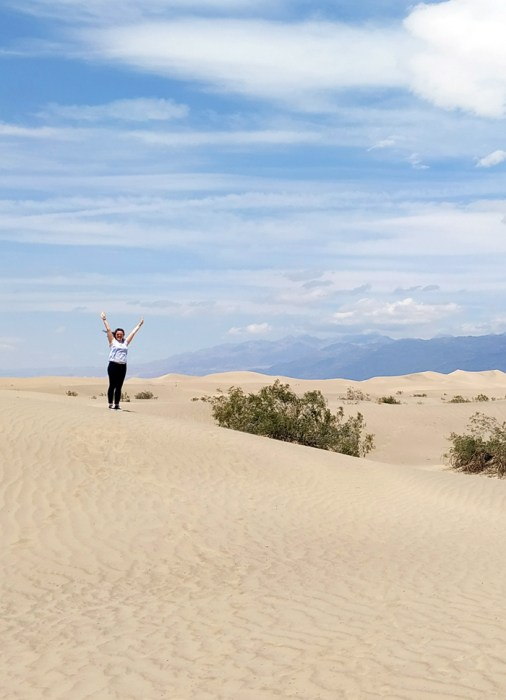 moquite sand dunes death valley