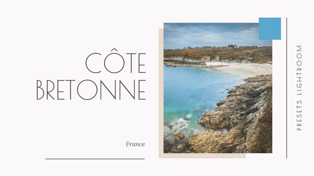 preset lightroom côte bretonne