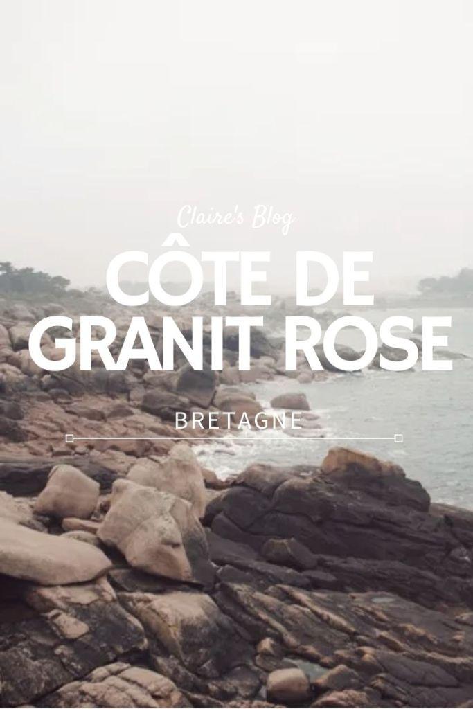 côte de granit rose bretagne