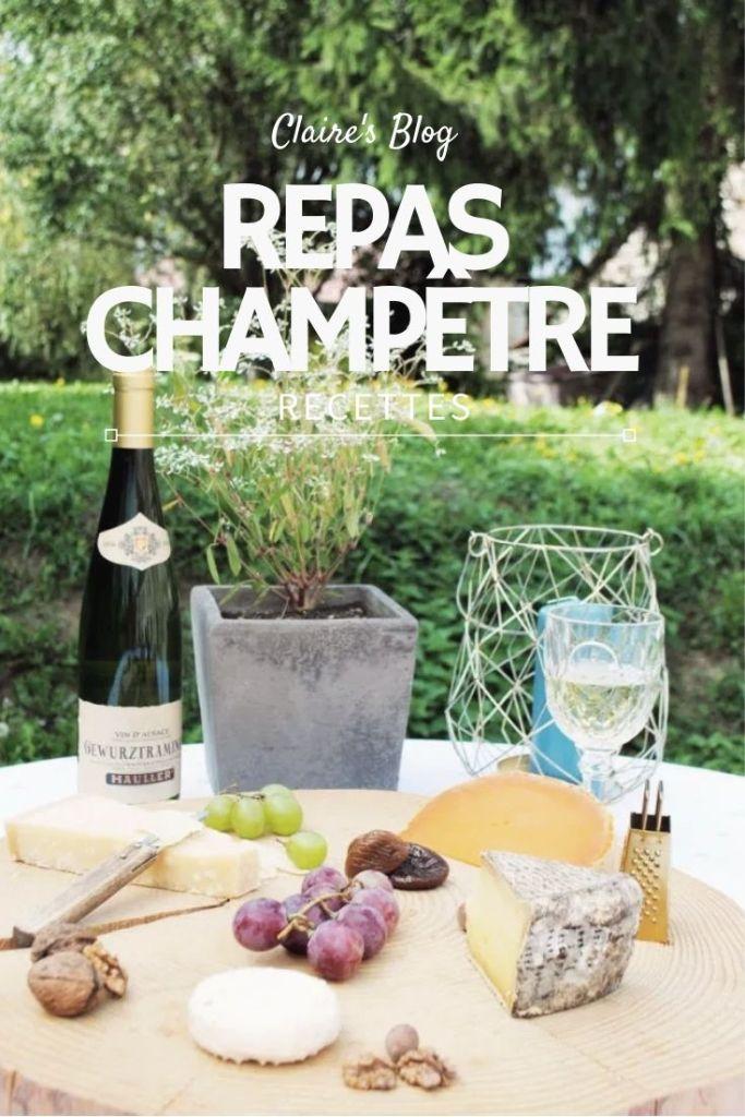 Recettes repas champêtre