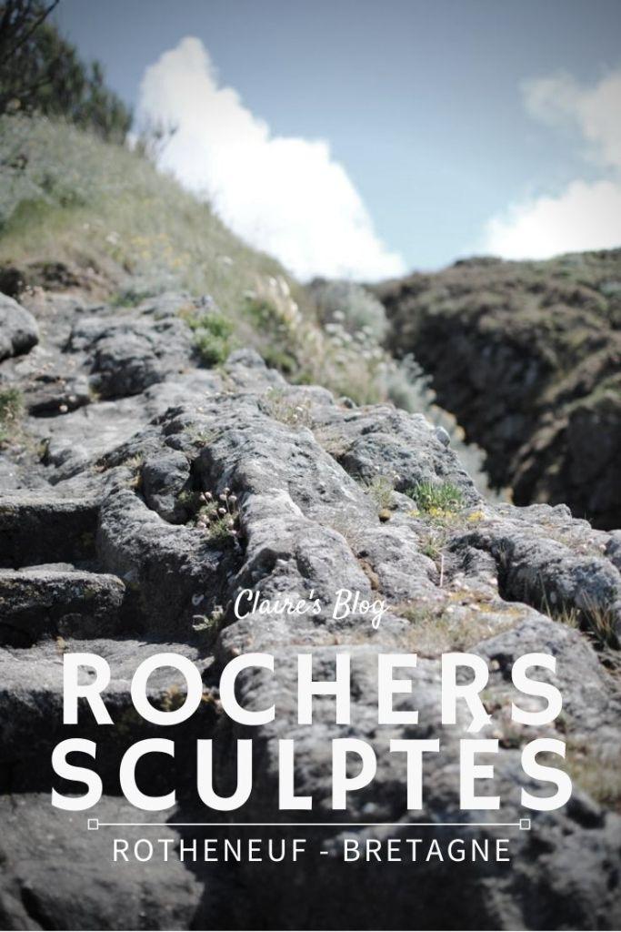 rochers sculptés de rotheneuf saint malo bretagne