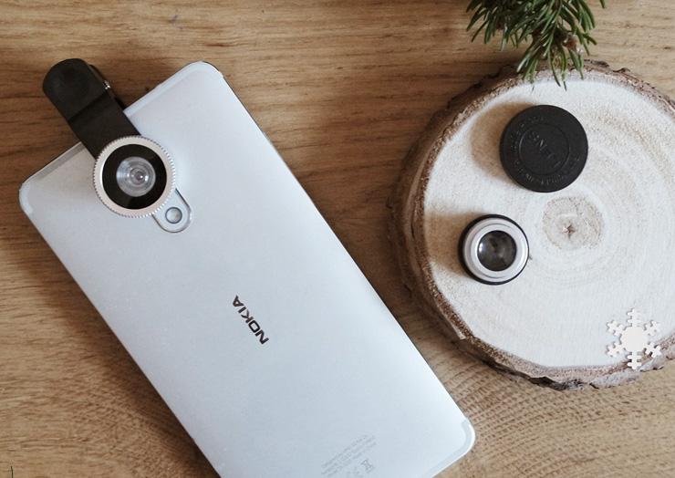 objectifs appareils photo téléphone
