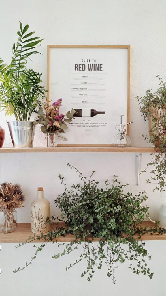plantes cuisine étagère idée décoration