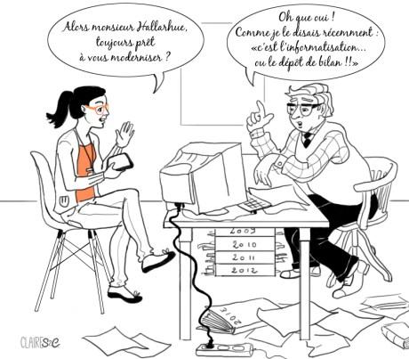 Illustration pour le site Diane de la Raitrie -Création Site Web - http://www.dianedelaraitrie.com/savoir-faire/